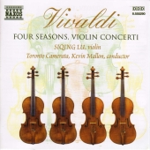 Album artwork for FOUR SEASONS, VIOLIN CONCERTI