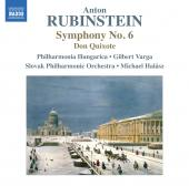 Album artwork for Rubinstein: Symphony no. 6 / Don Quixote