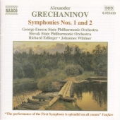 Album artwork for Alexander Grechaninov : SYMPHONIES 1 & 2