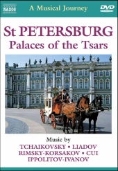 Album artwork for A Musical Journey: St Petersburg, Palaces of Tsars