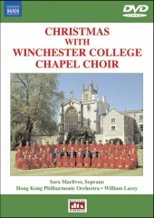 Album artwork for CHRISTMAS WITH THE WINCHESTER COLLEGE CHAPEL CHOIR
