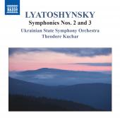 Album artwork for Lyatoshynsky:  Symphonies Nos. 2, 3