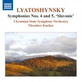 Album artwork for Lyatoshynsky:  Symphonies vol. 3 - Nos. 4, 5