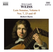 Album artwork for WEISS : LUTE SONATAS, VOLUME 6