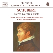 Album artwork for SCHUBERT: NORTH GERMAN POETS