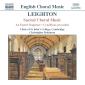 Album artwork for LEIGHTON: SACRED CHORAL MUSIC