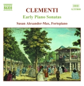 Album artwork for Clementi: Early Piano Sonatas (Alexander-Max)