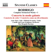 Album artwork for Rodrigo: Complete Orchestral Works Vol 3