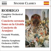 Album artwork for Rodrigo: Complete Orchestral Works Vol 9