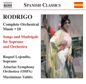 Album artwork for Rodrigo: Orchestral Music, Vol 10
