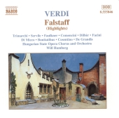 Album artwork for FALSTAFF (HIGHLIGHTS)