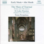 Album artwork for MASS OF TOURNAI / ST. LUKE PASSION