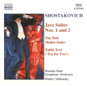 Album artwork for Shostakovich: Jazz Suites, etc / Yablonsky, Russia