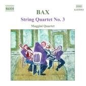 Album artwork for BAX: STRING QUARTET NO.3