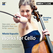 Album artwork for Kapustin: Works for Cello / Rauh