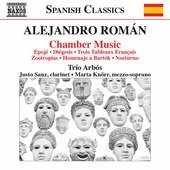 Album artwork for Alejandro Román: Chamber Music