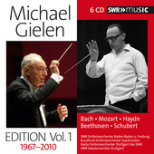 Album artwork for Michael Gielen Edition, Vol. 1 (1967-2010)