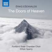 Album artwork for Eriks Ešenvalds: The Doors of Heaven