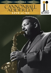 Album artwork for Cannonball Adderley Live in 63