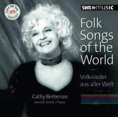 Album artwork for Folk Songs of the World / Cathy Berberian