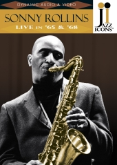 Album artwork for Jazz Icons: Sonny Rollins Live in 65 & 68