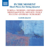 Album artwork for In the Moment: Short Pieces for String Quartet