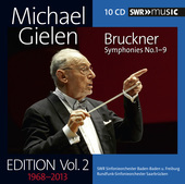 Album artwork for Michael Gielen Edition, Vol. 2: Bruckner