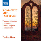 Album artwork for Romantic Music for Harp