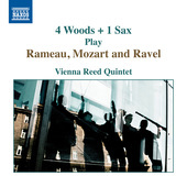 Album artwork for 4 Woods + 1 Sax Play Rameau, Mozart & Ravel