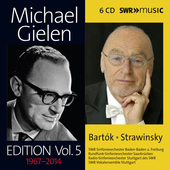 Album artwork for Michael Gielen Edition Vol. 5