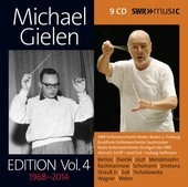 Album artwork for Michael Gielen Edition, Vol. 4 (1968-2014)