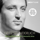 Album artwork for Romantische Arien / Wunderlich
