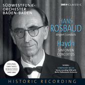 Album artwork for Rosbaud conducts Haydn