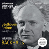 Album artwork for Beethoven & Brahms: Works for Piano / Backhaus