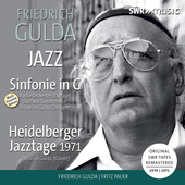 Album artwork for Gulda: Sinfonie in G - Heidelberger Hazztage 1971