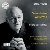 Album artwork for Saint-Saëns & Gershwin: Piano Concertos / Richter