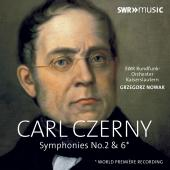 Album artwork for Czerny: Symphonies Nos. 2 & 6