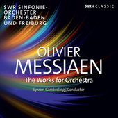 Album artwork for Messiaen: Orchestral Works