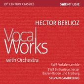 Album artwork for Berlioz: Vocal Works with Orchestra