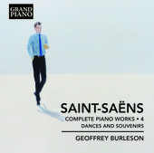 Album artwork for Saint-Saëns: Complete Piano Works, Vol. 4 – Dan
