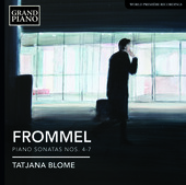 Album artwork for Frommel: Piano Sonatas Nos. 4-7