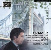 Album artwork for Cramer: Air anglo-calédonien varié & Piano Sonat