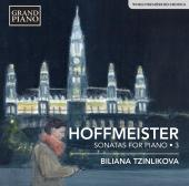 Album artwork for Hoffmeister: Sonatas for Piano, Vol. 3