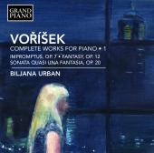 Album artwork for Voríšek: 6 Impromptus, Fantasie & Piano Sonata