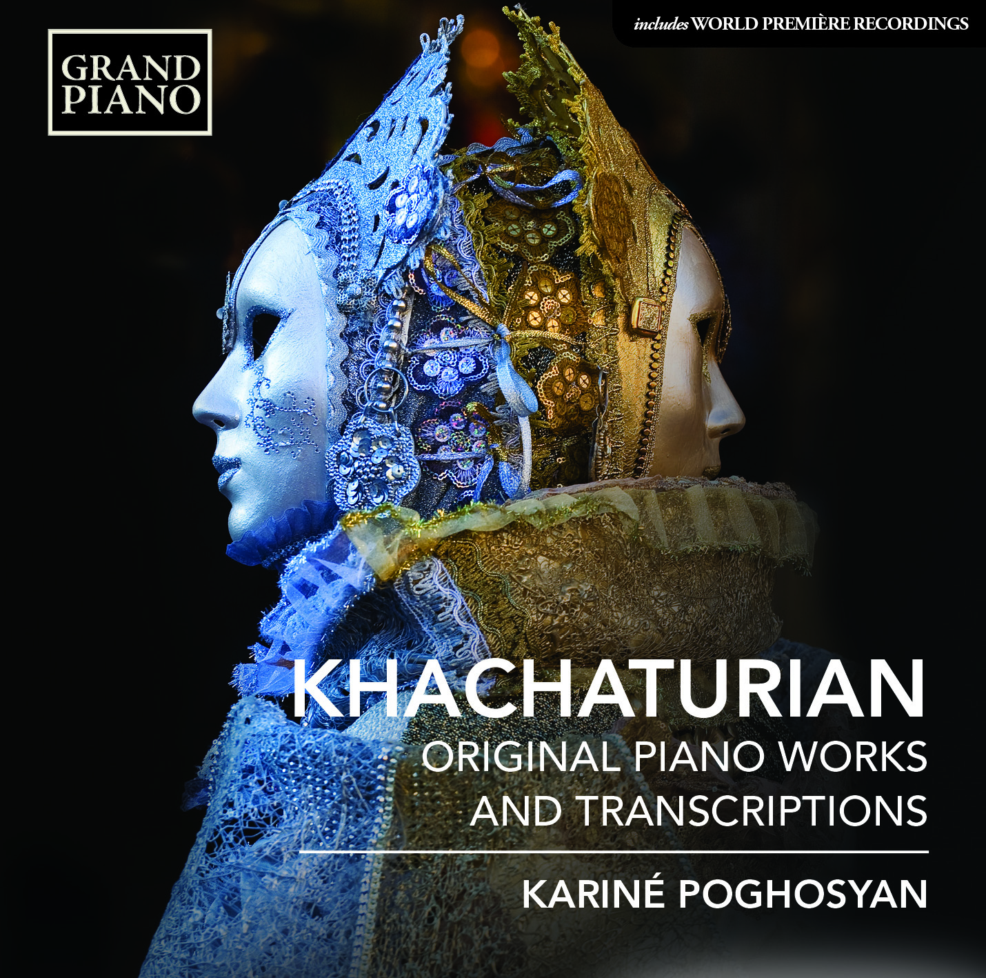Album artwork for Khachaturian: Piano Works & Transcriptions
