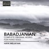 Album artwork for Babadjanian: Complete Works for Solo Piano / Melik