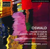 Album artwork for Oswald: Works for Piano
