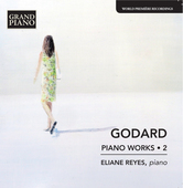 Album artwork for Godard: Piano Works, Vol. 2