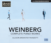 Album artwork for Weinberg: Complete Piano Works