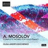 Album artwork for Mosolov: Compolete Works for Solo Piano